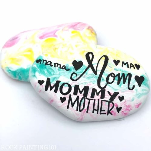 Cool Rock Painting Ideas16