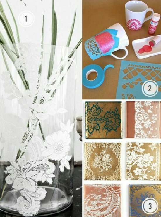 Crafts Made with Lace7