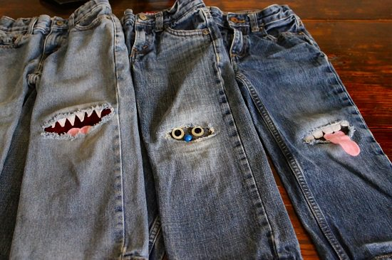 Cute Patched Jeans Ideas1